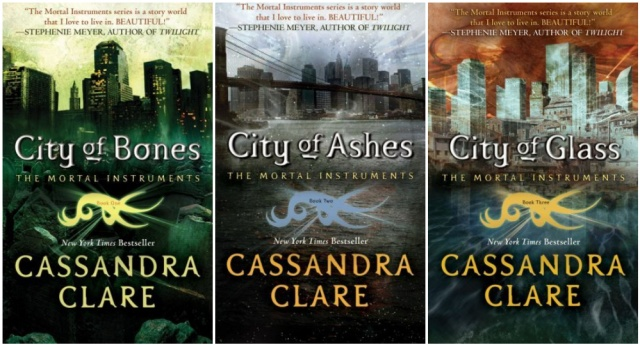 collage new us paperbacks mortal instruments
